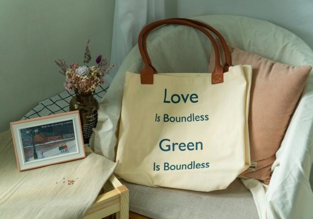 愛環保無界線 ‧ 帆布環保袋 2