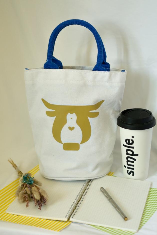 牛轉【扭轉】‧ 愛環保水桶帆布袋(無庫存) 3